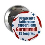 Support John Garamendi campaign button