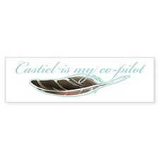 Angel Co-Pilot Bumper Bumper Sticker
