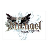 Archangel Michael Rides Again Postcards (Package o