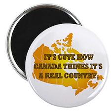Cute Canadian politics Magnet