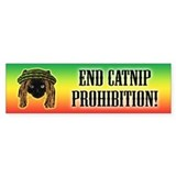 End Catnip Prohibition! Bumper Bumper Sticker