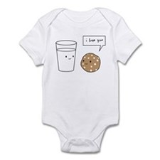 Cute I love cookies Infant Bodysuit