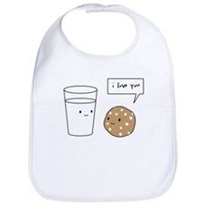 Cute I love cookies Bib