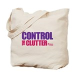 Control the Clutter - Tote Bag