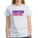 Control the Clutter - Women's T-Shirt