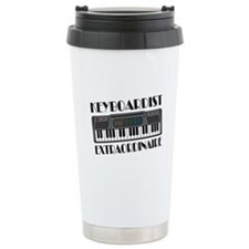 Keyboard Extraordinaire Ceramic Travel Mug