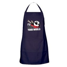 I'll Wok Your World Apron (dark)