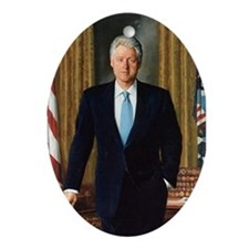 Bill Clinton Christmas Ornament