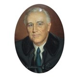 Franklin D. Roosevelt Christmas Ornament