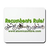 Recumbents Rule Mousepad