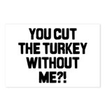 Cut The Turkey Postcards (Package of 8)