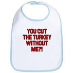 Cut The Turkey Bib