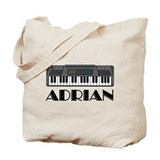 Personalized Keyboard Adrian Tote Bag
