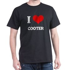 I Love Cooter Black T-Shirt