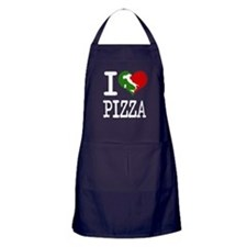 I Love Pizza Apron (dark)