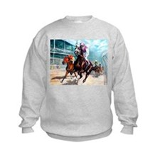 DOWN THE FIRST TURN Sweatshirt