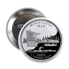 "Minnesota Quarter 2.25"" Button (100 pack)"
