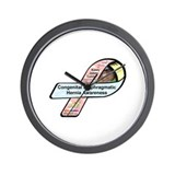 Kasey James Colvin CDH Awareness Ribbon Wall Clock