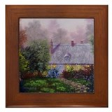 """Our Cottage"" Framed Tile"