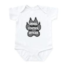 Animal Control Officer Infant Bodysuit