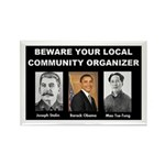 Beware of community organizer Rectangle Magnet (10