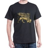 Dark (various colors) Lion of St. Mark T-Shirt