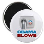 "Obama Blows 2.25"" Magnet (10 pack)"