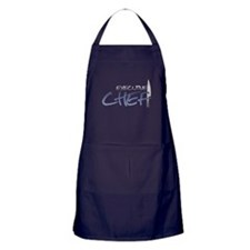 Blue Executive Chef Apron (dark)
