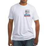 Obama Blows Fitted T-Shirt