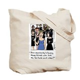 Cute Six chix Tote Bag