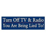 Turn Off TV and Radio