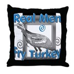 Real Men Throw Pillow