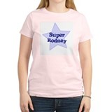 Super Rodney Women's Pink T-Shirt