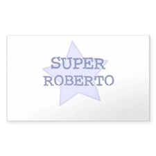 Super Roberto Rectangle Decal