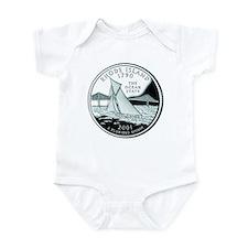 Rhode Island Quarter Infant Bodysuit