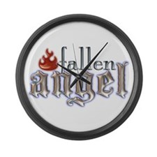 Fallen Angel Large Wall Clock
