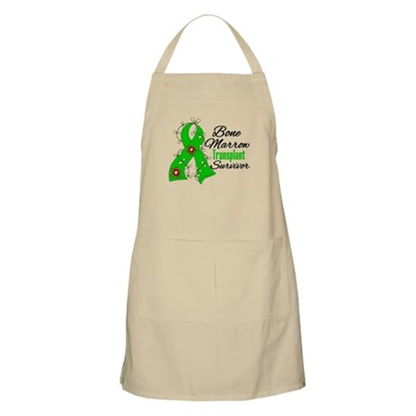 BMT Survivor Flower Ribbon Apron