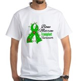 BMT Survivor Flower Ribbon Shirt