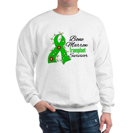 BMT Survivor Flower Ribbon Sweatshirt