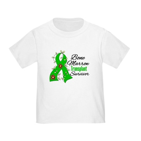 BMT Survivor Flower Ribbon Toddler T-Shirt
