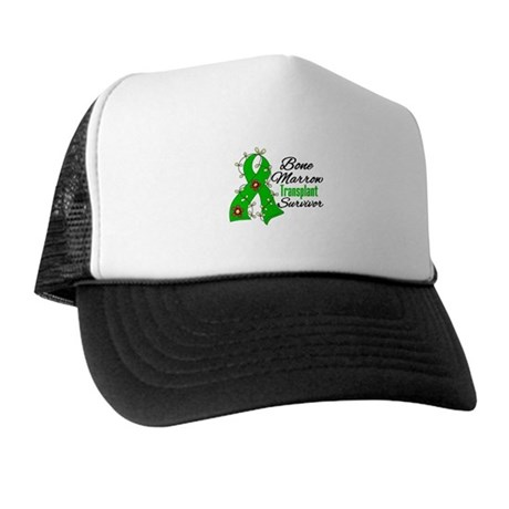 BMT Survivor Flower Ribbon Trucker Hat
