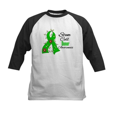 Stem Cell Donor Awareness Kids Baseball Jersey