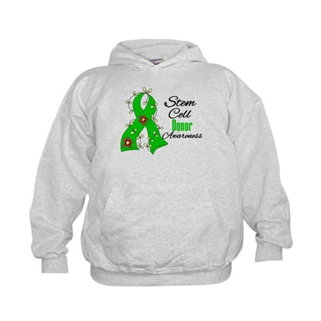 Stem Cell Donor Awareness Kids Hoodie