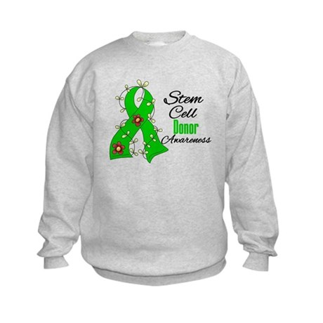 Stem Cell Donor Awareness Kids Sweatshirt