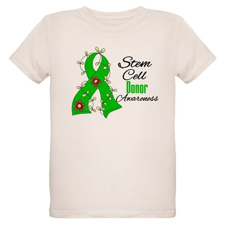 Stem Cell Donor Awareness Organic Kids T-Shirt