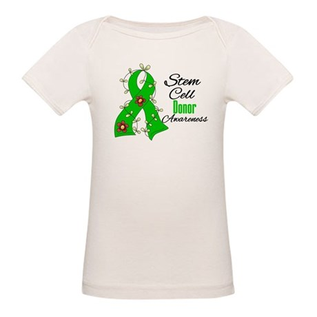 Stem Cell Donor Awareness Organic Baby T-Shirt