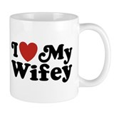 I Love My Wifey Coffee Mug