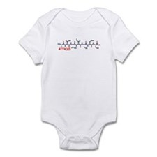 Atticus name molecule Infant Bodysuit