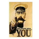 Your Country Needs You! Postcards (Package of 8)