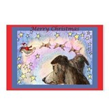 Sleigh flight Postcards (Package of 8)